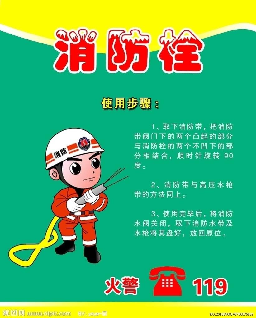 消防栓使用方法 - 江苏南京消防器材设备厂/灭火器